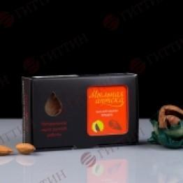 КАШТАН – МИНДАЛЬ, натуральное мыло ручной работы, 100 гр, ГИТТИН (Санкт-Петербург)