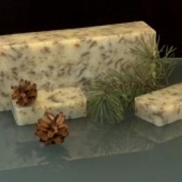СОСНА - ЛЕЧЕБНАЯ ГРЯЗЬ, натуральное мыло ручной работы, 100 гр, ГИТТИН (Санкт-Петербург)
